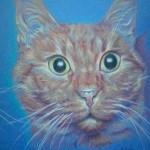 Tigrou  Crayon de couleur - 12 x 16 cm